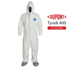 Disposable Coverall DuPont Tyvek 400 TY122S WH