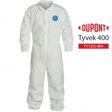 Disposable Coverall DuPont Tyvek 400 TY125S WH