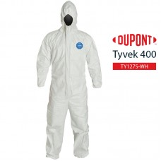 Disposable Coverall DuPont Tyvek 400 TY127S WH