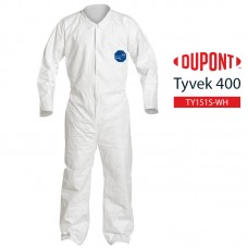 Disposable Coverall DuPont Tyvek 400 TY151S WH