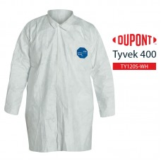 Disposable Frock Tyvek 400 TY210S WH