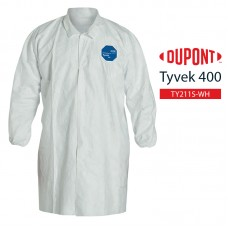 Disposable Frock DuPont Tyvek 400 TY211S WH