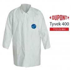 Disposable Lab Coat DuPont Tyvek 400 TY212S WH
