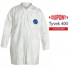 Disposable Frock DuPont Tyvek 400 TY216S WH