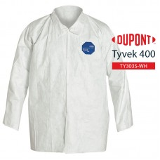 Disposable Shirt DuPont Tyvek 400 TY303S WH