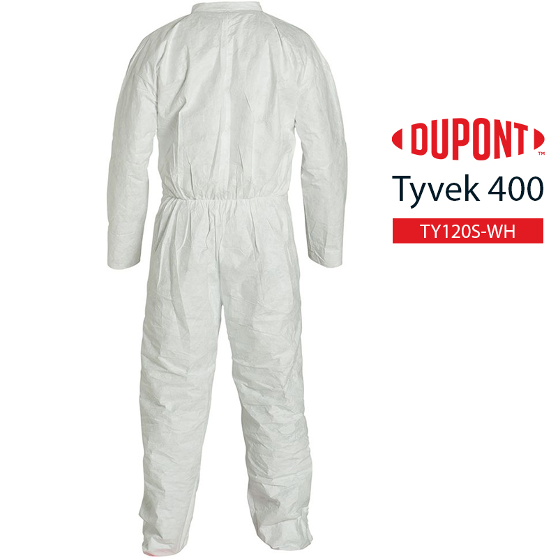 Disposable Coverall DuPont Tyvek 400 TY120S WH