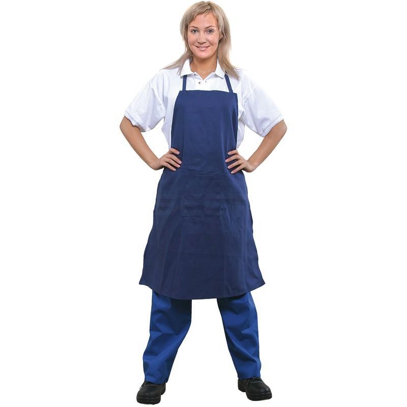 Blue cloth aprons ViDi LR05
