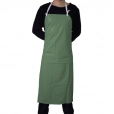 Green rubber waterproof aprons Binovo M 6075