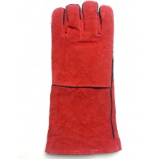 Long leather gloves for welding M708200WL