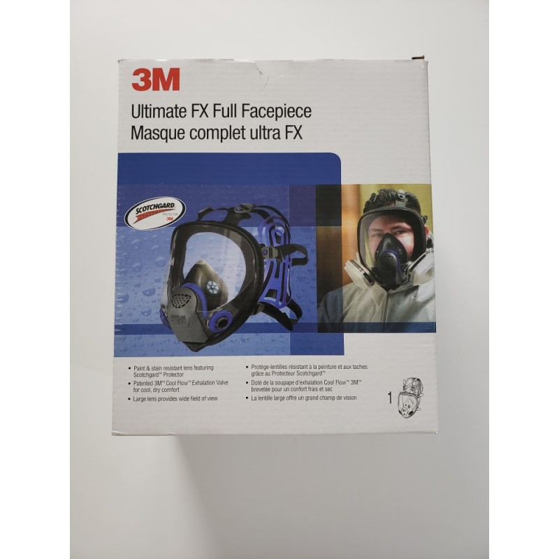 Full Facepiece Reusable Respirator 3M FF-402