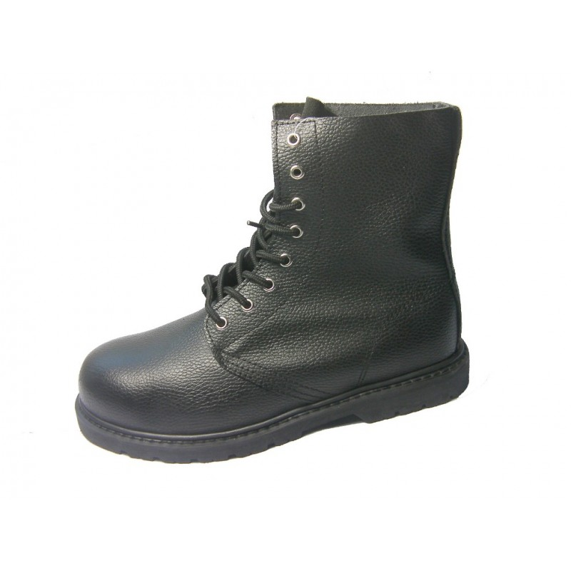 Leather high boots SDL003