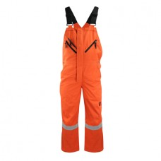 Modacrylic Cotton Flame and Static Resistant Bib Coverall Antony Gill8494
