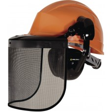 Set: Helmet QUARTZIII + headphones SUZUKA 2 + Screen-grid - FORESTIER2 VENITEX