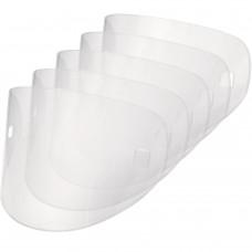 Set of 5 spare external screens for helmet BARRIER - BARRIER PLATE VENITEX