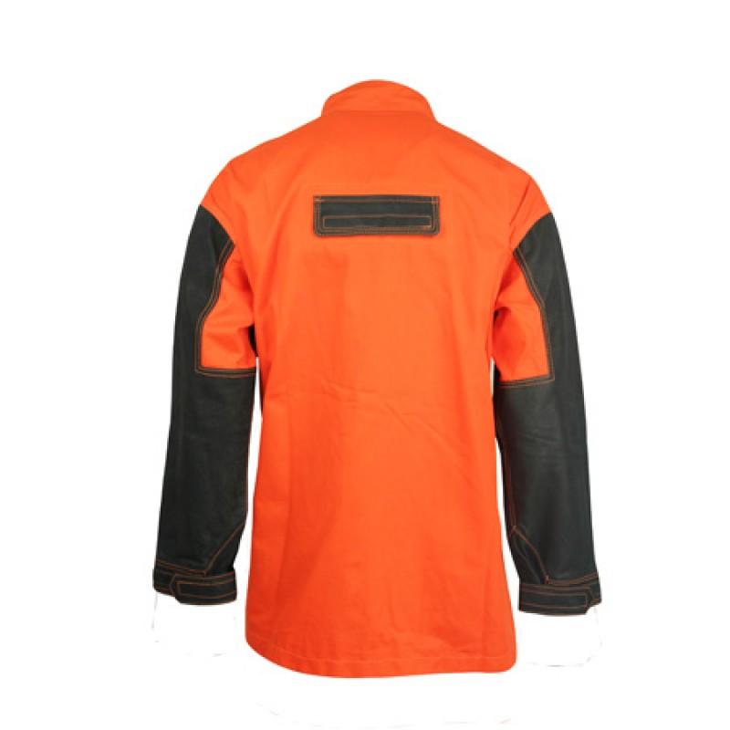 Flame Resistant Leather Welder Jacket FalkPit G45635