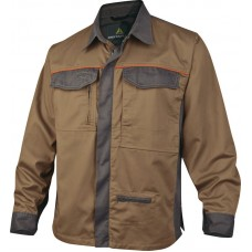Jacket with long sleeves - 65% polyester 35% cotton 200 g / m MCCHE PANOPLY