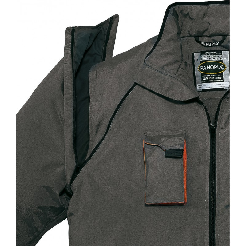 A warm jacket with detachable sleeves NORTHWOOD PANOPLY