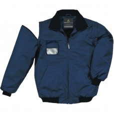 Jacket with detachable sleeves, collar trimmed with fleece RENO PANOPLY