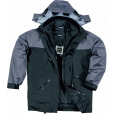 PVC coated polyester jacket - insulation 3M THINSULATE ™ ALASKA PANOPLY
