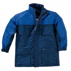 Jacket polyester with PU coating, insulation DELTALU KINGSTON PANOPLY