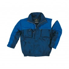 Jacket polyester with PU coating, insulation DELTALU, removable sleeve KIRUNA PANOPLY