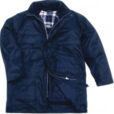 Jacket polyester with PU coating, padding removable ISOLA PANOPLY