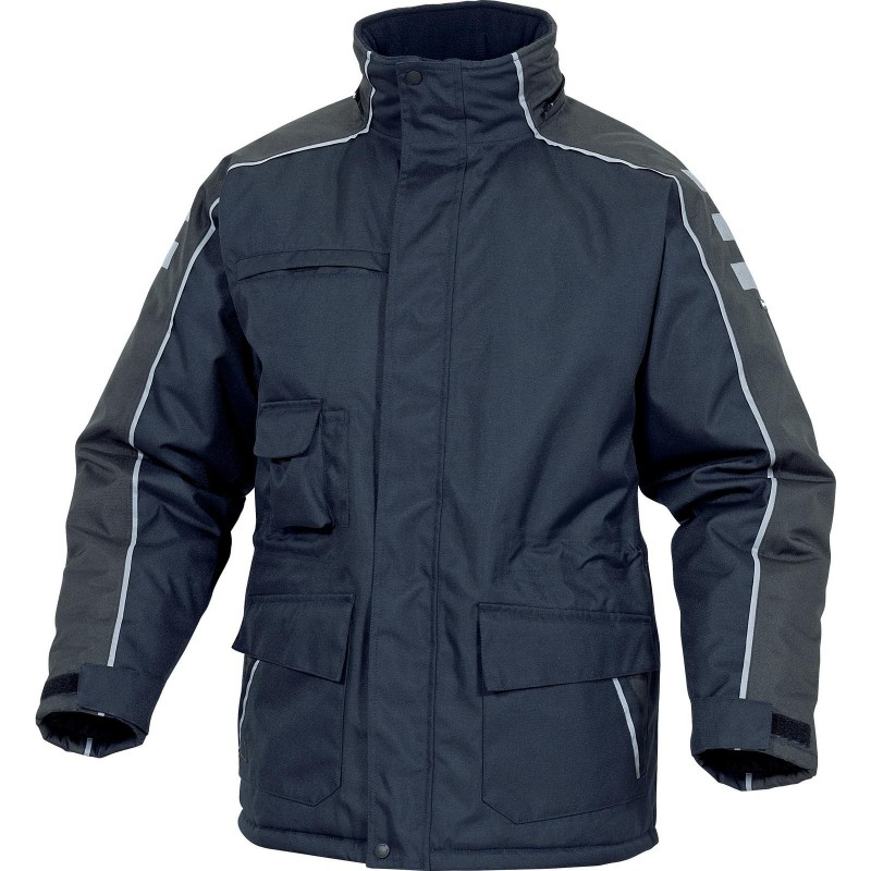 Insulated jacket with a hood, 7 pockets NORDLAND PANOPLY