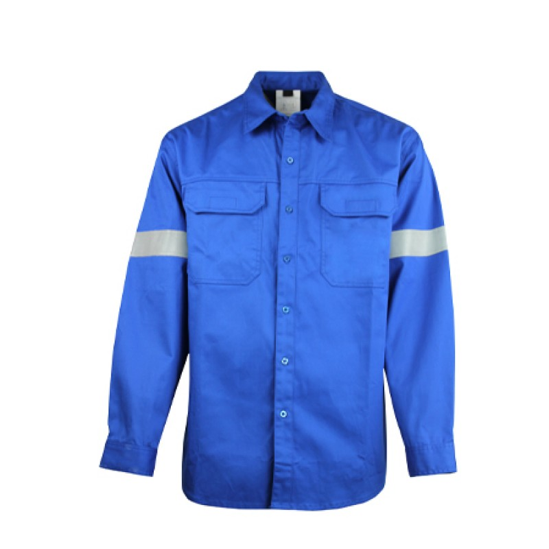 Flame and Static Resistant Cotton Shirt FalkPit M1524