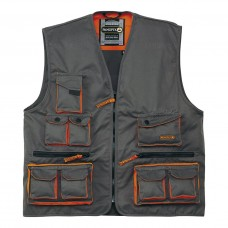 Vest with lots of pockets - 65% polyester 35% cotton 245 g / m M2GIL PANOPLY
